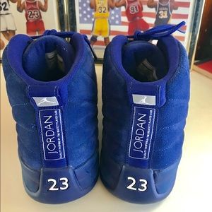 e62234f7d80 Nike Shoes - Air Jordan Retro Blue Suede 130690-400 Size 11.5